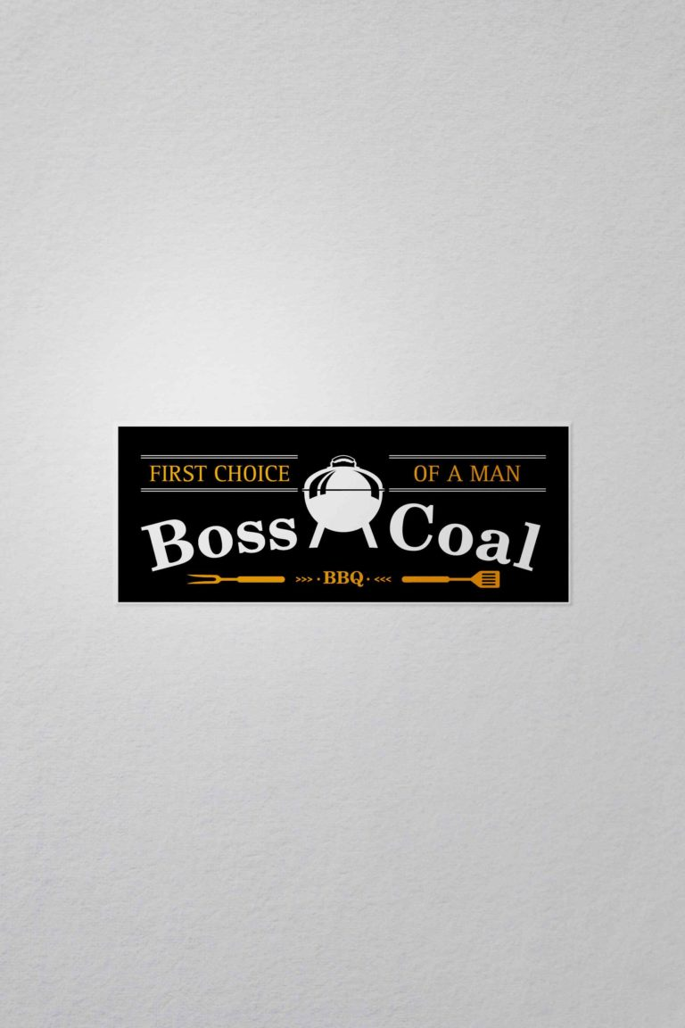 Logo von Boss Coal - First Choice of a man