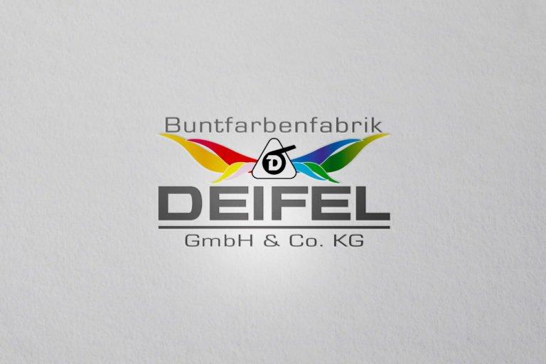 Logo von Deifel Buntfarbenfabrik