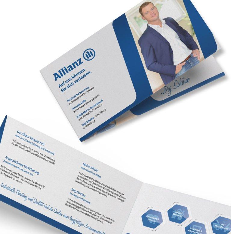 Flyer für Allianz - Generalvertretung Jörg Schöne