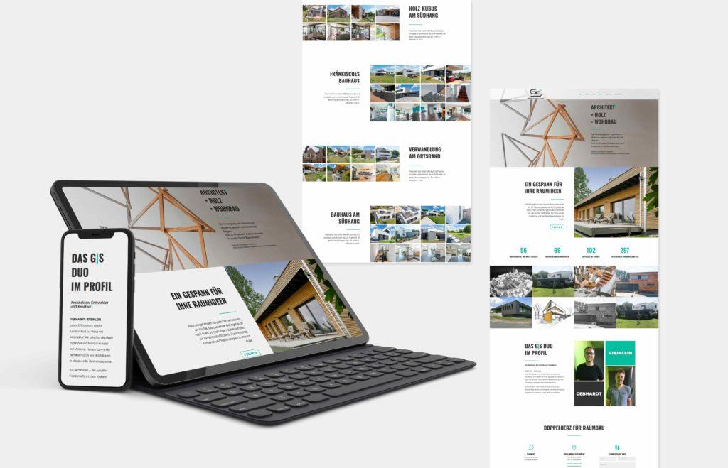 GS Architekten Webseite