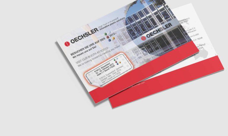Einladungskarte für OECHSLER